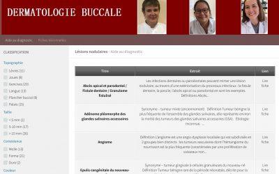 Aide au diagnostic des nodules de la cavité buccale